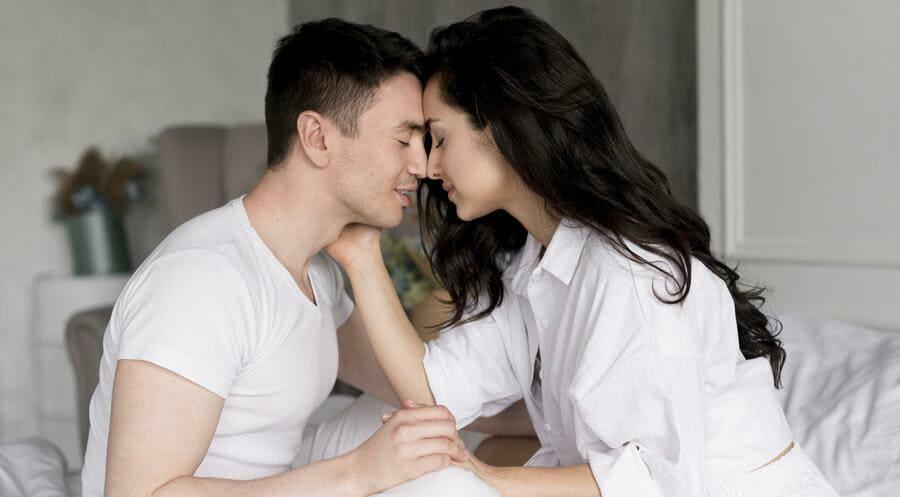 erecție la sărut