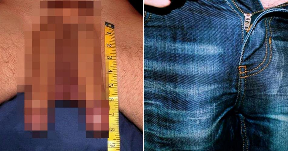 compara penisurile ca o femeie, dar fără erecție
