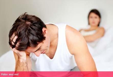 lipsa erecției la bărbați