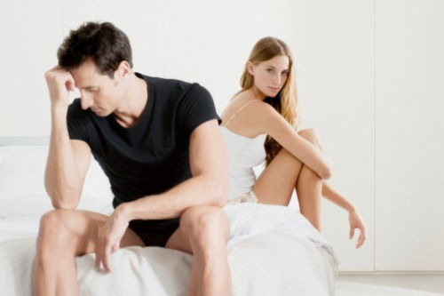 erecție slabă și prostatită când penisul a început să crească