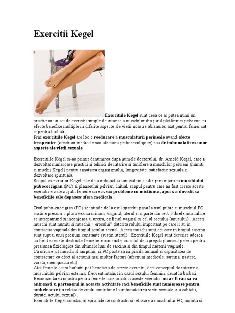 exerciții kegel pentru îmbunătățirea erecției