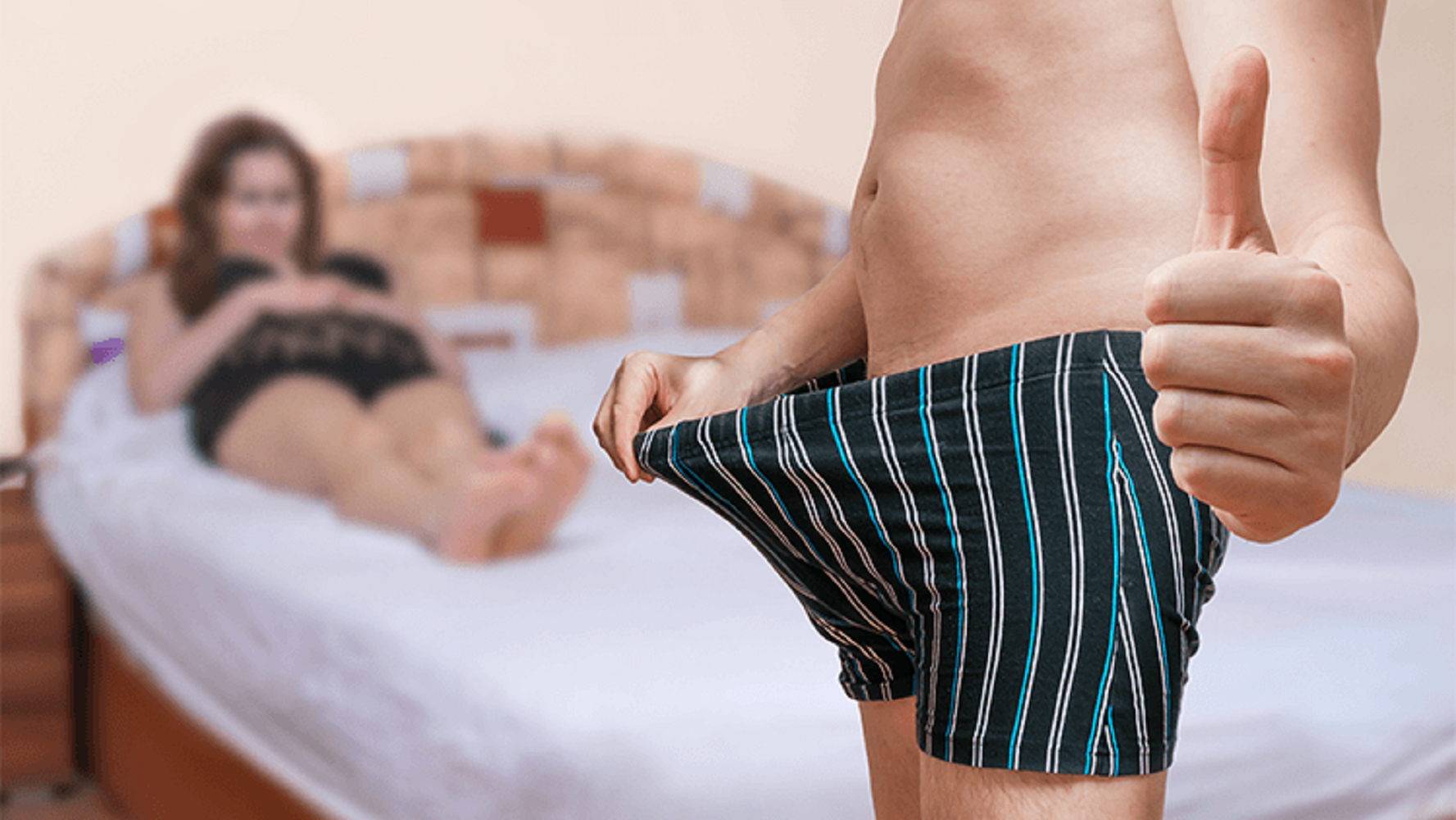 Au apărut pantalonii scurți care te ajută să ai o erecţie mai bună