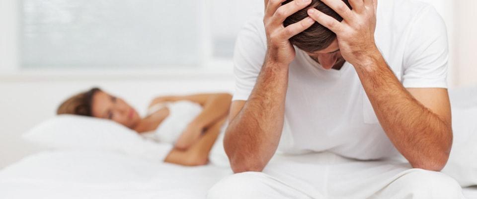 erecție slabă din cauza
