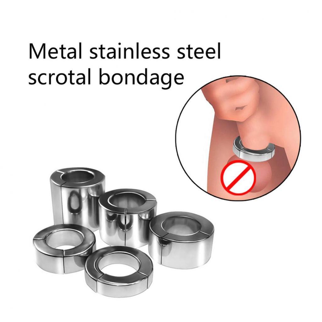 inel metalic pentru penis și scrot